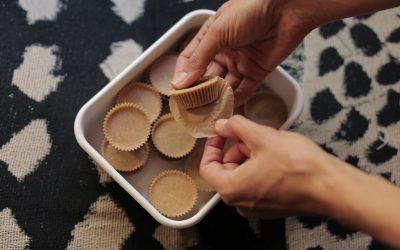 Freezer Fudge Cups