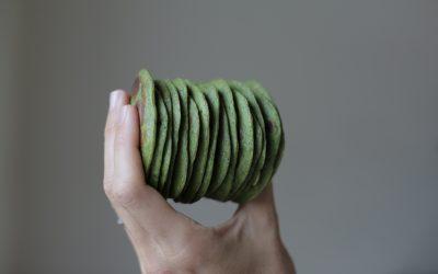 Green (Banana & Spinach) Pancakes