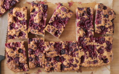 Raspberry & Apple Lunchbox Slice