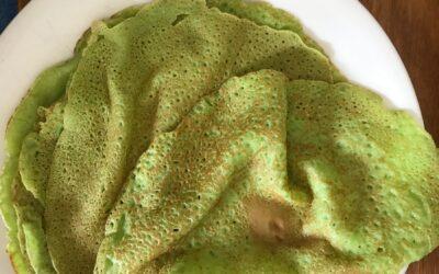 Gluten-Free Spinach Wraps